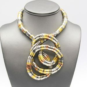 Jewelry - 10mm Bendable Snake Necklace